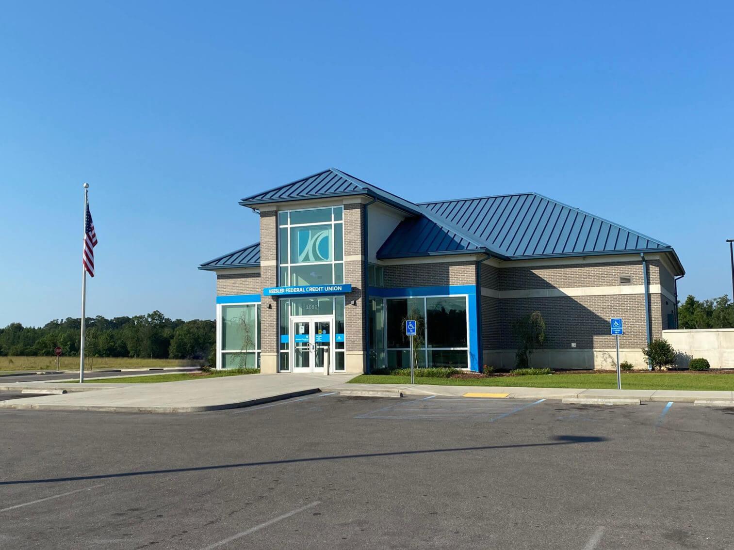 Wiggins branch entrance