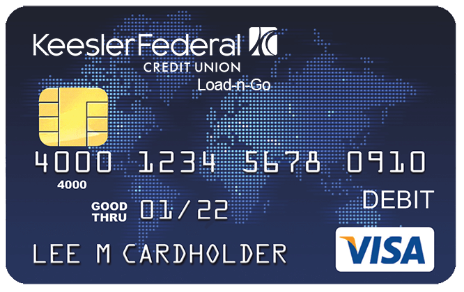 Prepaid Load-n-Go Travel Card