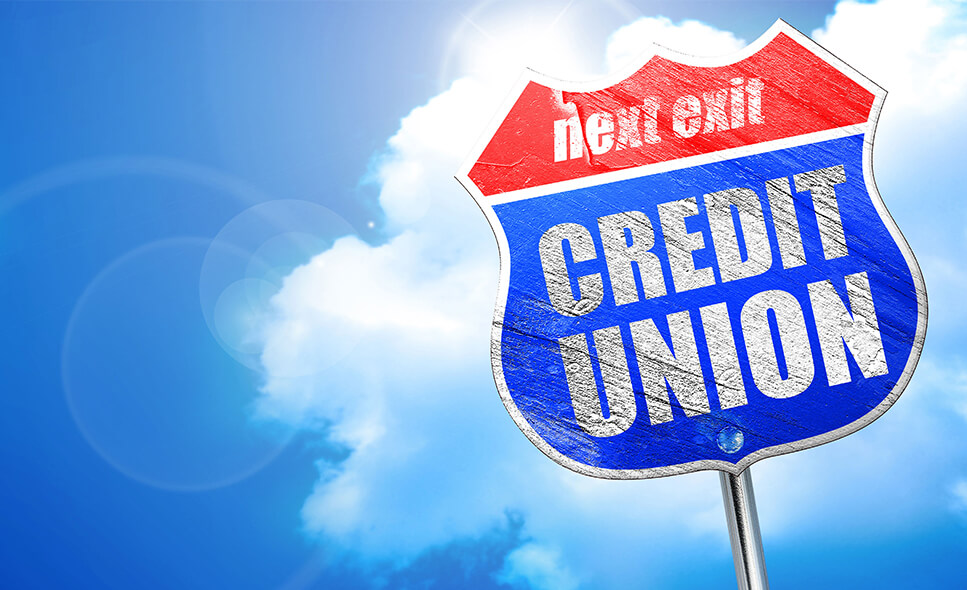 Next Exit Credit Union Sign