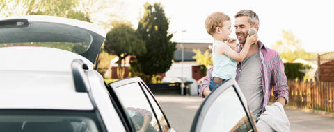 father-and-son-get-into-car