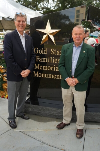 Gold Star Memorial Dedication